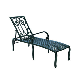 Somerset Chaise Lounge with Cushions by Summer Classics