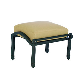Somerset Ottoman with Cushion by Summer Classics
