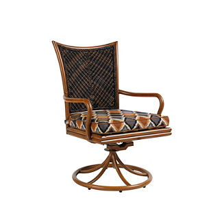 Tommy Bahama Island Estate Lanai Swivel Rocker Dining Chair