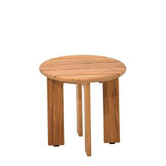 Adirondack Round Side Table