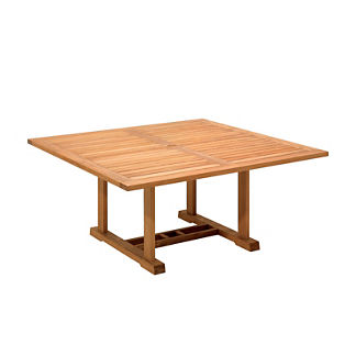 Bristol Square Teak Dining Table by Gloster