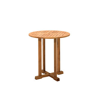 Bristol Round Teak Bar Table
