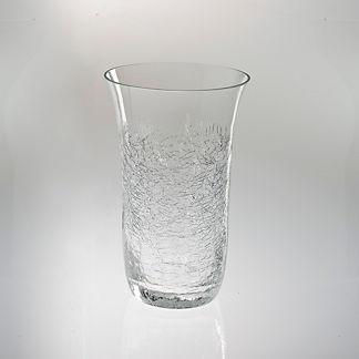 Crackle Highball Glass