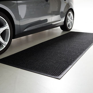 Water & Dirt Shield Rubber Border Mat