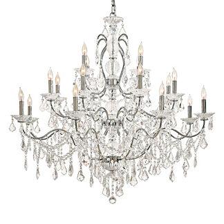Contessa Vintage Crystal 20-Light Chandelier