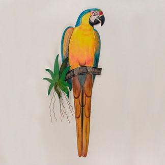 Blue Macaw Wall Art