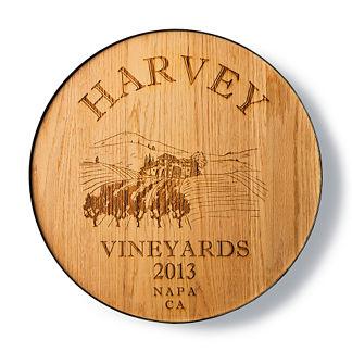 Personalized Wine Room Plaque