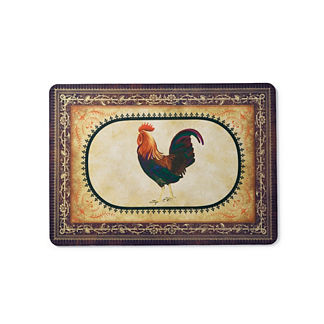 Victory Rooster Kitchen Mat