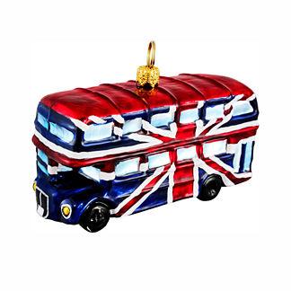 British Double Decker Ornament