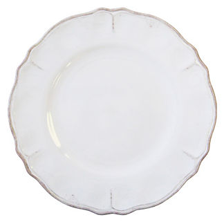 Rustica Antique Melamine Dinner Plates, Set of Four