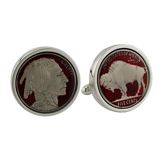Buffalo Nickel Cufflinks