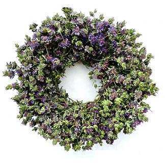 Lemon Mint Wreath