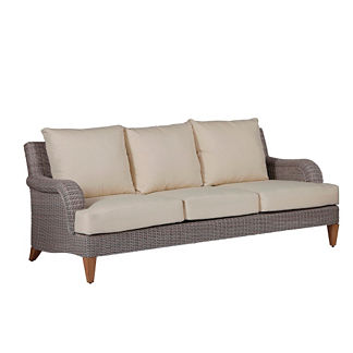 London Sofa With Cushions By Summer Classics