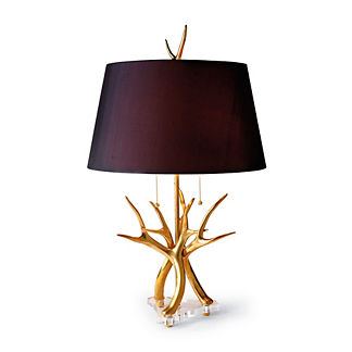 Contemporary Horn Lamp