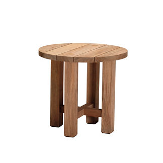 Croquet Teak Reclaimed End Table by Summer Classics