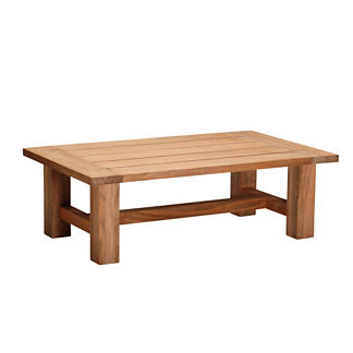 Croquet Teak Reclaimed Coffee Table by Summer Classics