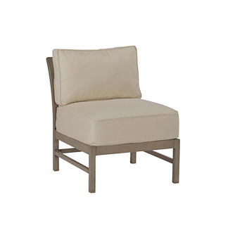 Club Slipper Chair with Cushions by Summer Classics