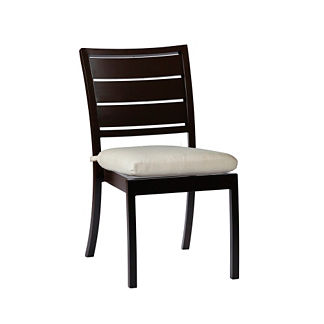 Charleston Side Chair with Cushion by Summer Classics