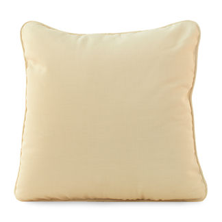 Club Teak Throw Pillow by Summer Classics