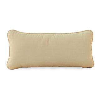 Club Teak Bolster Pillow by Summer Classics