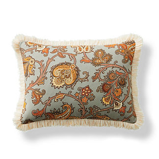 Tortola Brush Fringe Decorative Pillow
