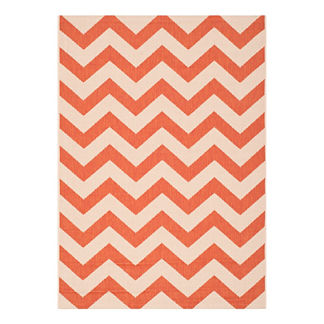 Classic Chevron Outdoor Rug