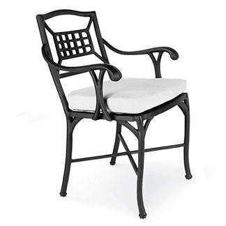 Catalina Aluminum Dining Arm Chair