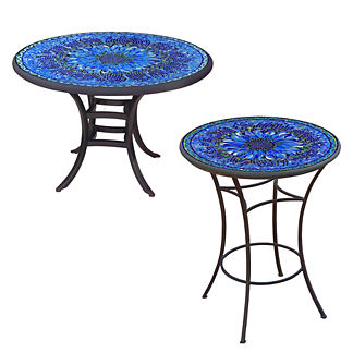KNF Bella Bloom Round Bistro Table