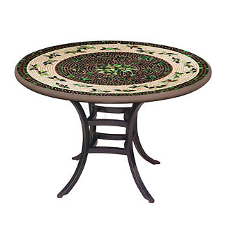 KNF Finch Round Bistro Table