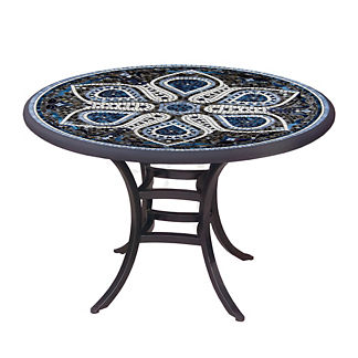 KNF Grigio Round Bistro Table