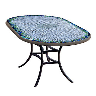KNF Belize Oval Bistro Table