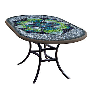 KNF Belcarra Oval Bistro Table