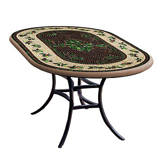 KNF Finch Oval Bistro Table