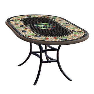 KNF Maritz Oval Bistro Table