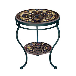 Almirante Double-Tiered Side Table
