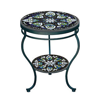 KNF Belcarra Double-tiered Side Table