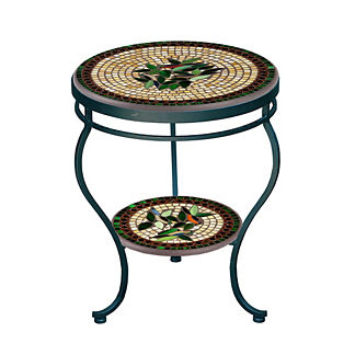 Finch Double-Tiered Side Table