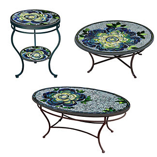 KNF Giovella Double-tiered Side Table