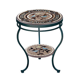 KNF Provence Double-Tiered Side Table