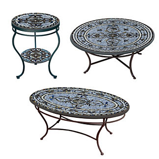 KNF Roma Double-Tiered Side Table