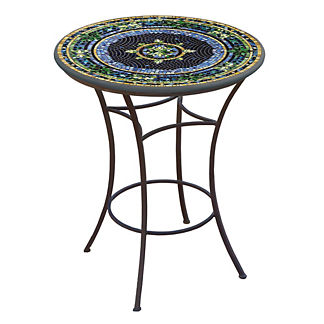 KNF Lake Como Round High Dining Table