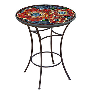 KNF Zinnia Round High Dining Table