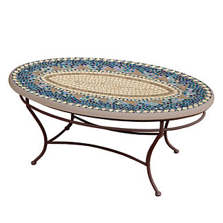 KNF Caribbean Sea Oval Coffee Table