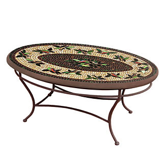 KNF Finch Oval Coffee Table