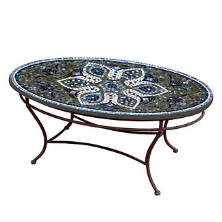 KNF Grigio Oval Coffee Table