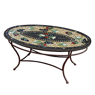 KNF Maritz Oval Coffee Table