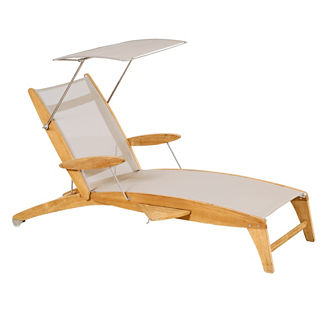 Curvilis Chaise Sunshade