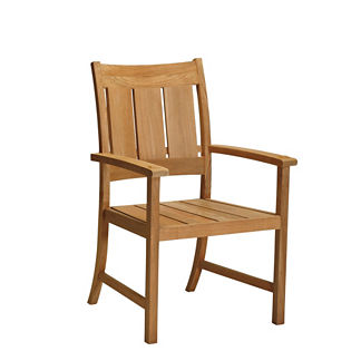 Croquet Teak Dining Arm Chair by Summer Classics