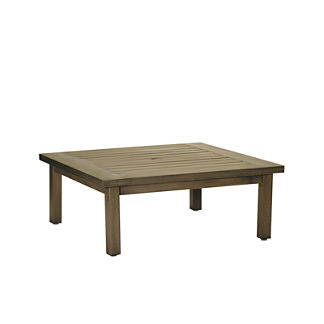 Club Square Coffee Table in Oyster by Summer Classics