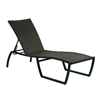 Skye Chaise Lounge with Cushion by Summer Classics